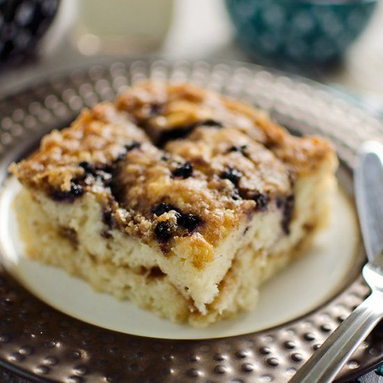 Blueberry Sour Cream Coffee Cake | eats. | Pinterest