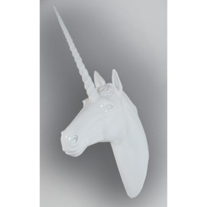 Unicorn head wall mount j adore we can paint another color and hang