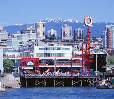 Lonsdale Quay, North Vancouver. Worked here from ages 17-20.