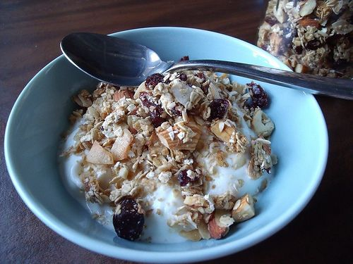 Cherry Almond Granola | Recipes | Pinterest