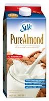 Almond Milk... a delicious alternative to dairy. Can't live without it in my latte or morning shake.