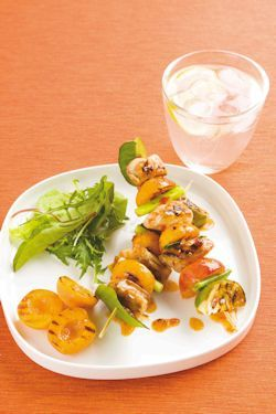 Recipe: Chicken, Kaffir Lime and Apricot Skewers