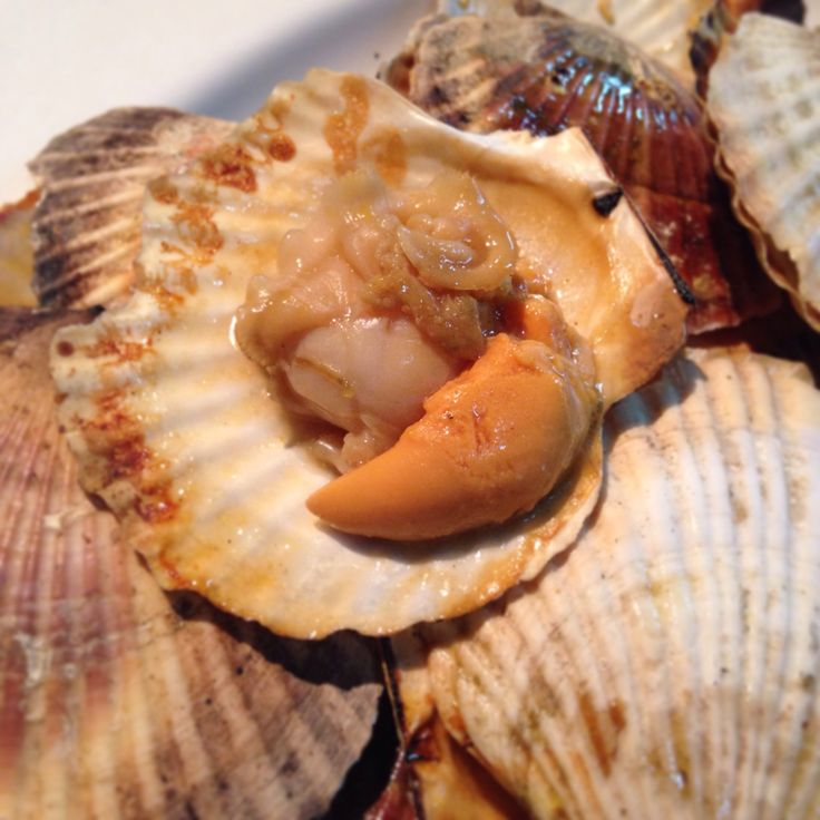 Grilled Scallops | Delicious Dishes | Pinterest