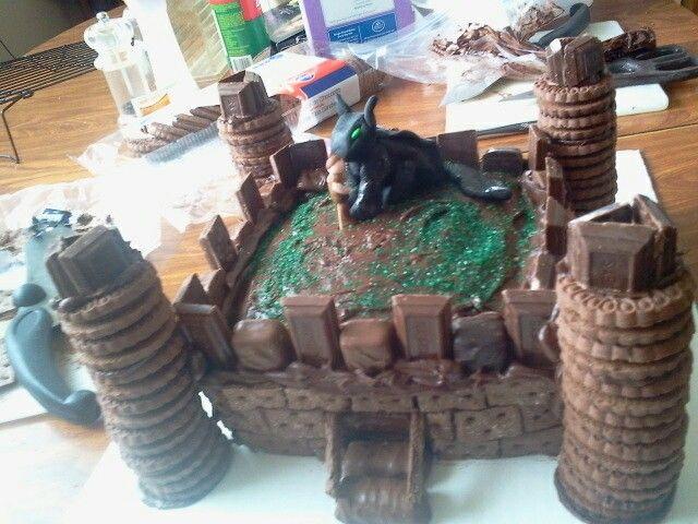 How To Train Your Dragon Cake Decorations Australia