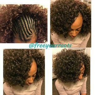 ... on Pinterest Crochet Braids, Curly Crochet Braids and Natural Hair