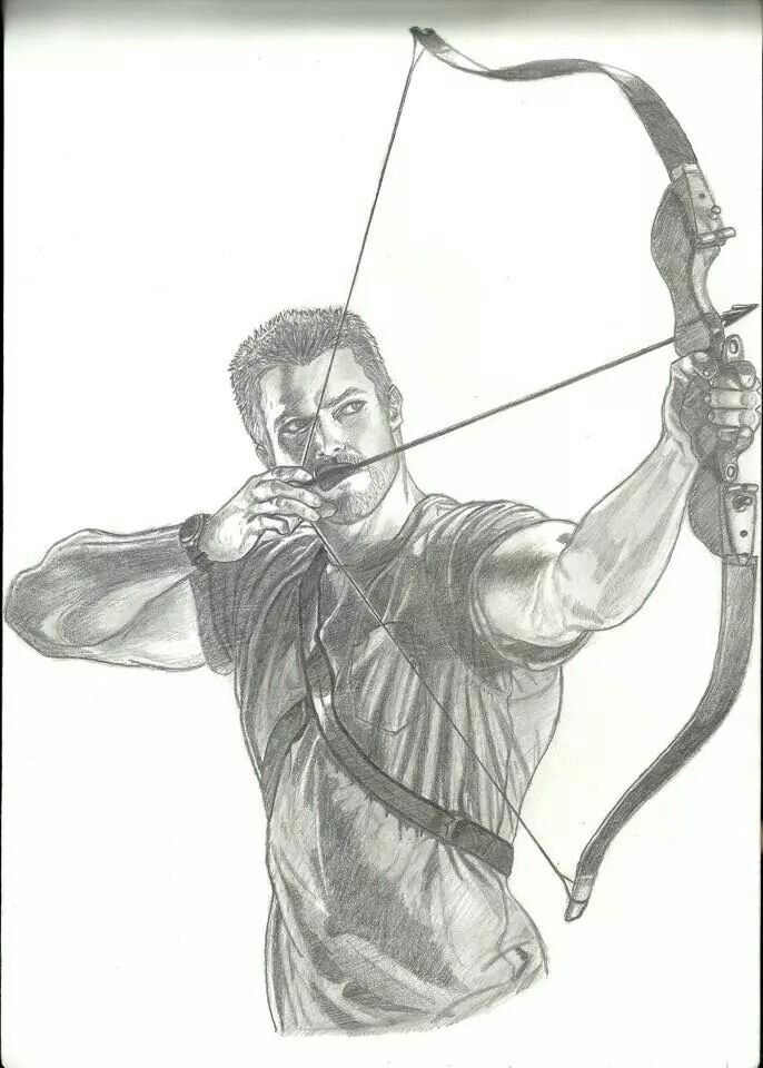 1000+ Images About Arrow On Pinterest | Arrow Cw Stephen Amell And Pencil Portrait