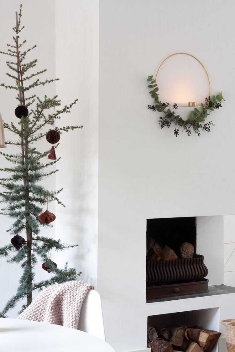 Minimalism christmashome Ceder tree