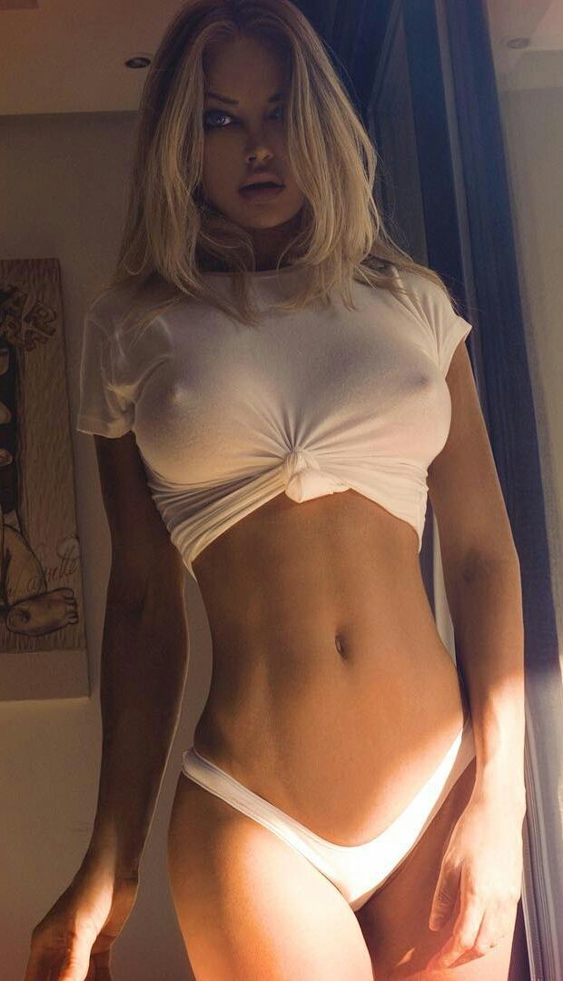 Hot babes with perfect tits