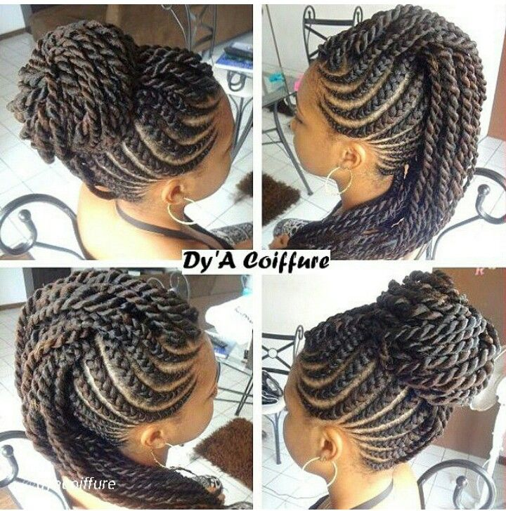... mohawk braids braids cornrows twists braids senegalese mohawk forward