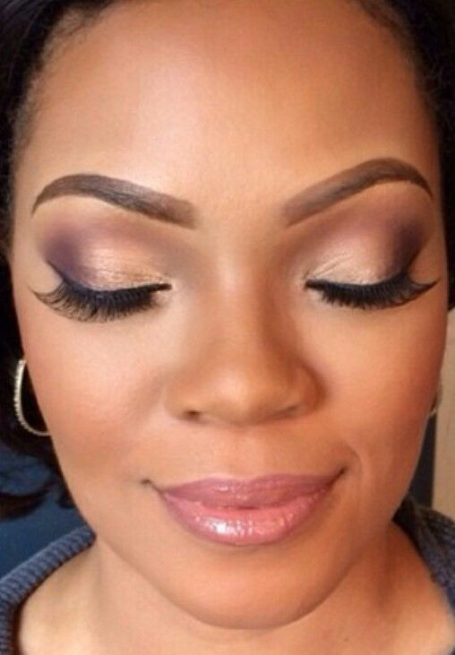 bridal makeup for dark skin african american bridal