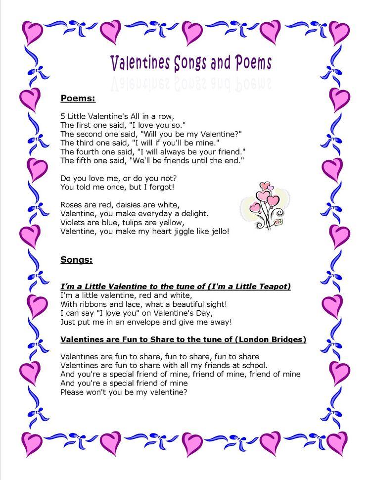 valentines poems rhymes