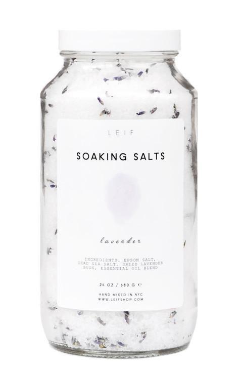 Pure Soaking Salts - LEIF