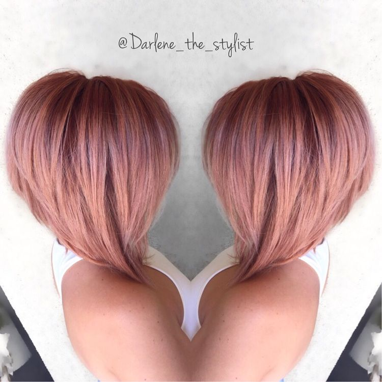 Rose Gold Hair Color This Hair Color Trend Isn 39 T Just For