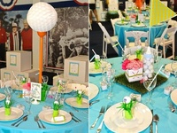 golf parties, decorations, activities and tips