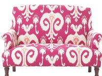 Everything about crazy-fun chairs/sofas and cute stools/ benches/ottomans too...