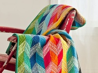 Inspiration for attacking the scrap stash and creating beautiful quilts.