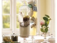 I am always on the hunt for ideas on what to put in my many apothecaries.  I hope this can help those just like me.
