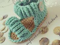 crochet zapatitos-botas