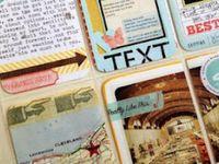 Journaling/ Smash books/ Filofax