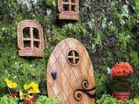 Wee fairy gardens