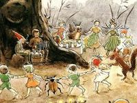 Elsa Beskow (1874 – 1953) was a Swedish children's book author and illustrator. She is often called the 'Beatrix Potter' of Scandinavia. Elsa Beskow's popular Swedish children's books include Peter in Blueberry Land, Children of the Forest and Pelle's New Suit. Swedish children have grown up with Elsa Beskow's books for over 100 years. MAny of her titles are available in English.