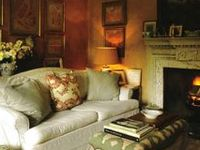 These pins exemplify the perfect English cottage......warm, cozy, and refined.
