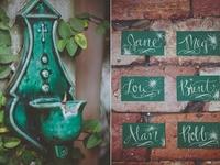 Wedding+Event: Escort Cards