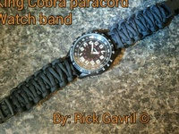 Custom paracord apparel bracelets, watch bands, dog leashes, dog collars and keychains, will also do special request.