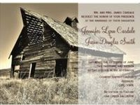 Rustic Country Wedding Invitations that can be customized.  Simply start with these templates and fill in your wedding details.  These are great for country weddings, barn weddings, western themed wedding, and any wedding with a rustic theme.