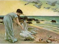 Illustrations (mostly vintage) for The Wild Swans (my favorite fairytale of all time) and similar fairytales such as The White Swans, The Six Swans, etc.