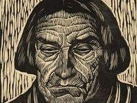 Lino, wood and silkscreening methods. Monoprinting, collograph prints.