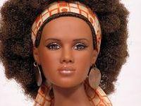 Barbie portrait
