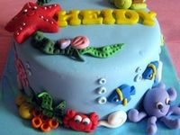Collection of ideas for a fish-themed toddler birthday party