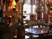 country prim Christmas