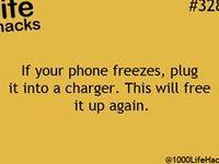 useful tips to make life easier