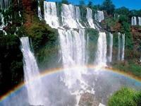 Water - falling, flowing, rushing, gushing, tinkling, thundering... even freezing...