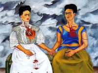 Frida and day of dead