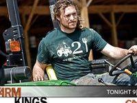 Tim, Pete, Dan, John, Sam, Paul, Bitty, Lisa, Ben and Joe King - Farm Kings, Freedom Farms