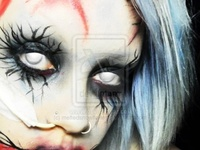 halloween and makeup