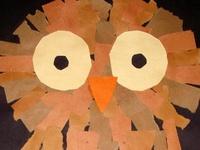 Preschool animal artwork