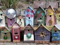 Birdhouses, Feeders & Dwellings.