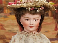 Character-Faced and Googly Antique/Vintage Dolls