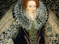 Fashion and Costumes late 16th Century: 1550-1599 Elizabethan style