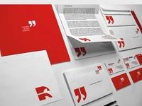 Corporate, brand or self-promotion identity design