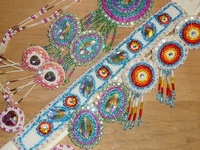 Native American/Canadian bead work