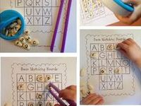 Fine motor activities for children and pediatric occupational therapy.