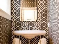 bathroom spaces.