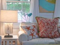 """Beach home decorating ideas with a definite focus on """"cottage"""" style!"""