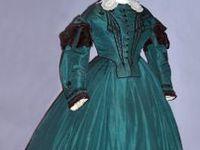 Extant Dresses - Mostly Civil War Era