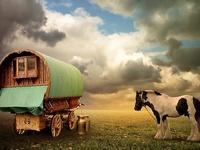 Roulottes et caravanes